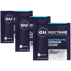 GU Energy Roctane Electrolyte Capsules 3x4 Pouches
